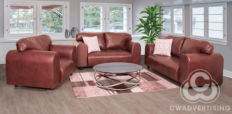 Furniture Photography – Lounge setting on location