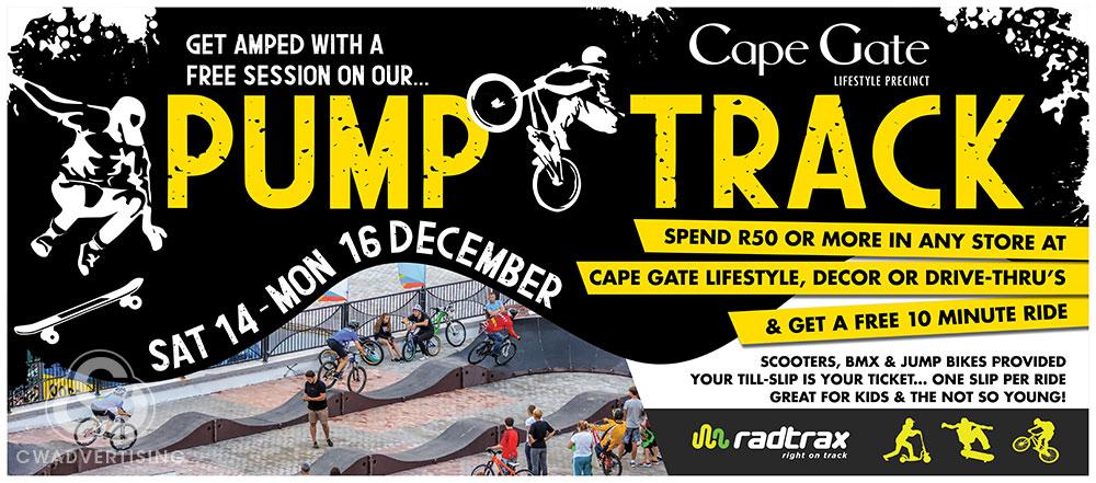 Cape Gate Lifestyle Precinct Pump Track Promotion