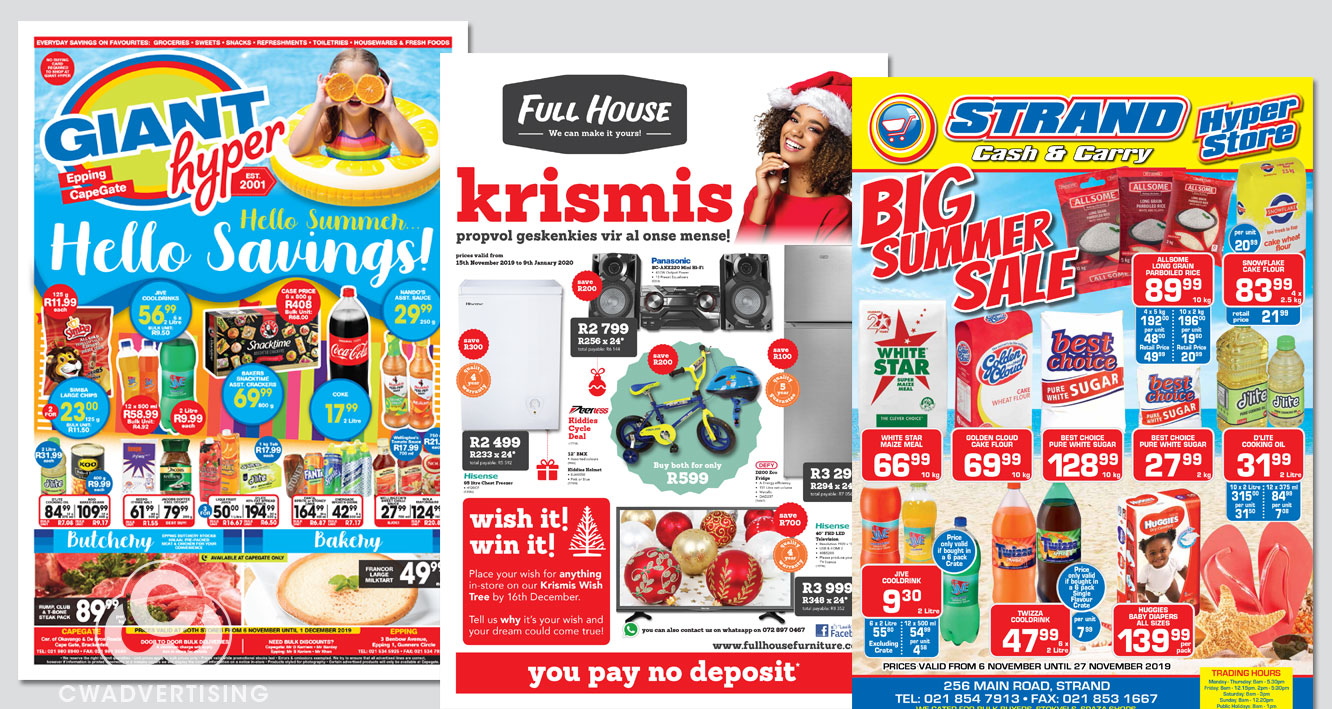 Leaflets – Monthly Promotions