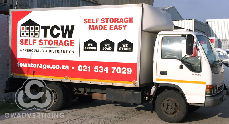 TCW Self Storage – Truck Signage