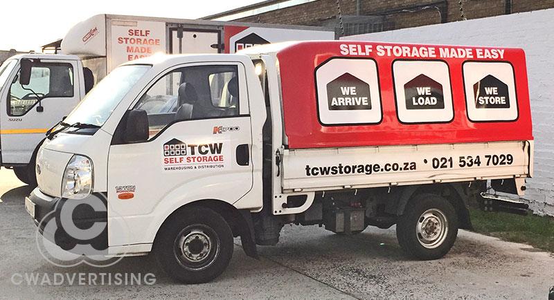 TCW Self Storage – Vehicle Signage
