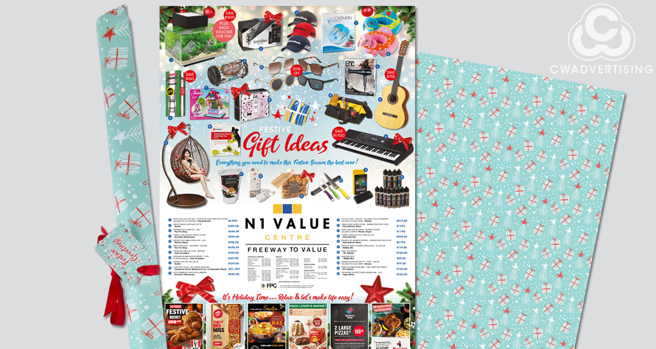 Christmas Gift/Gift Wrap Giveaway – N1 Value Centre