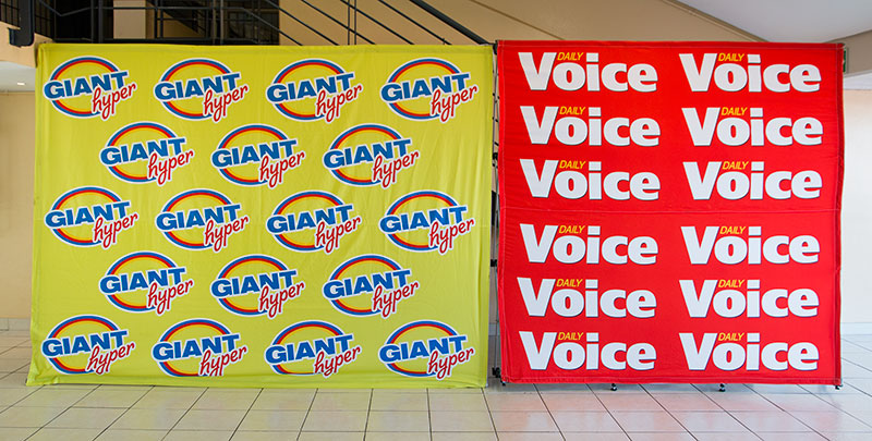 Branded Wall Banners