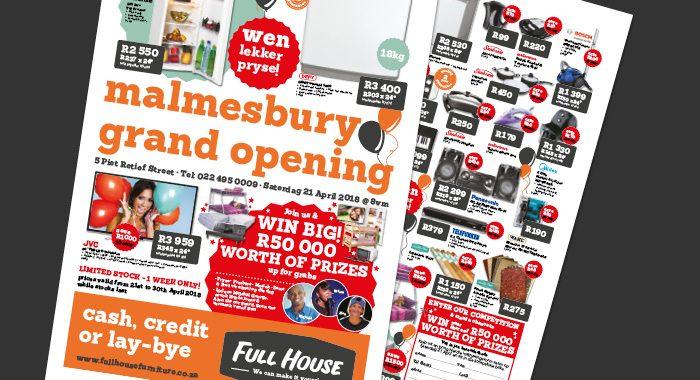 Full House Malmesbury Opening Leaflet