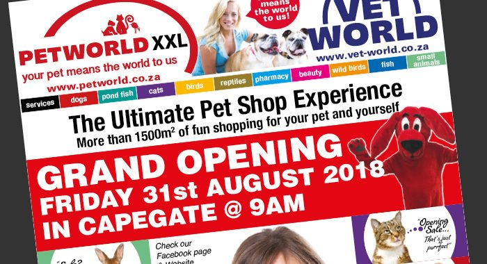 Petworld Opening CapeGate Advert