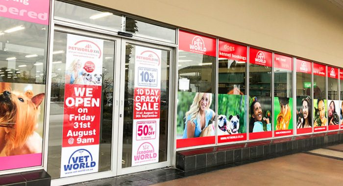 Petworld Opening Exterior Doors